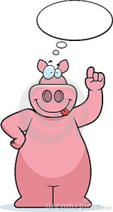 pig-thinking-13711362